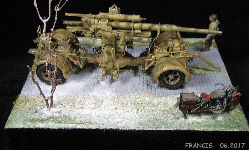 Flak 37 88 mm TAMIYA et non pas ESCI comme renseigné erronément - 1/35 190326123215690652