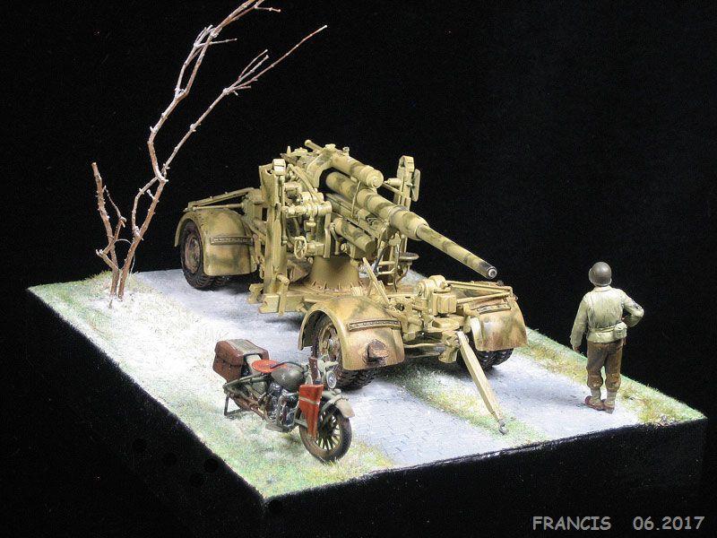Flak 37 88 mm TAMIYA et non pas ESCI comme renseigné erronément - 1/35 190326124614438659