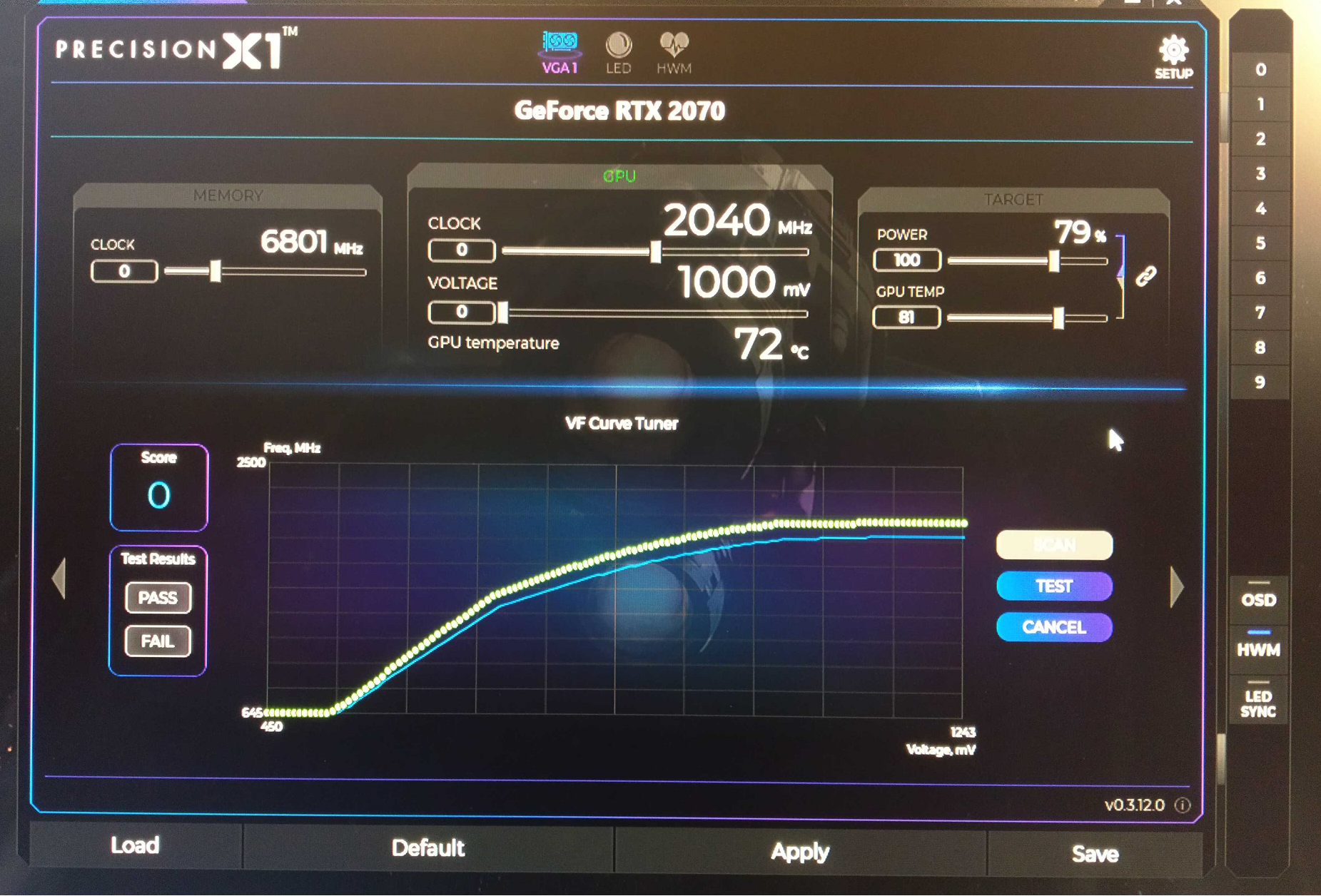 Overclocking : [OC GPU] NVIDIA OC Scanner
