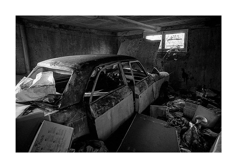 scan Urbex voiture