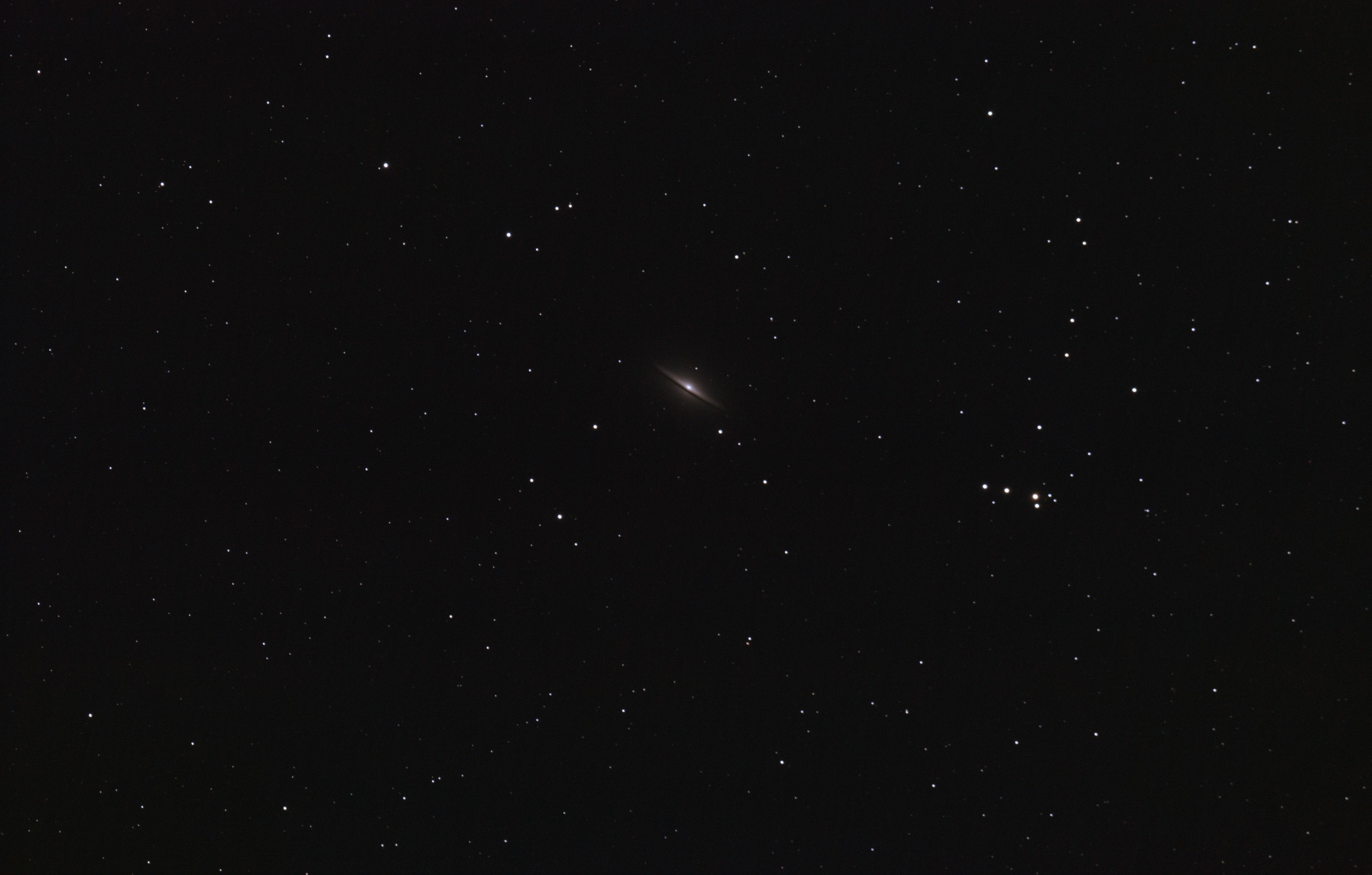 galaxie du sombréro