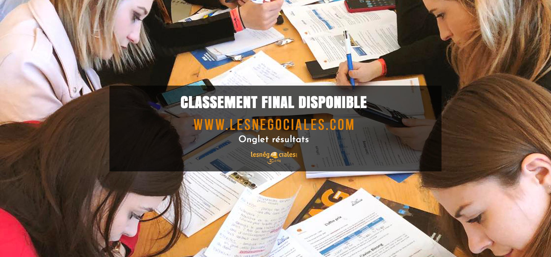 Classement Final 1