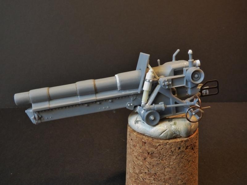 15 cm sFH.13/1 auf Geschutzwagen Lorraine-Schlepper Sd.Kfz. 135/1   RPM 1/35 ème  - Page 2 190401062110565362