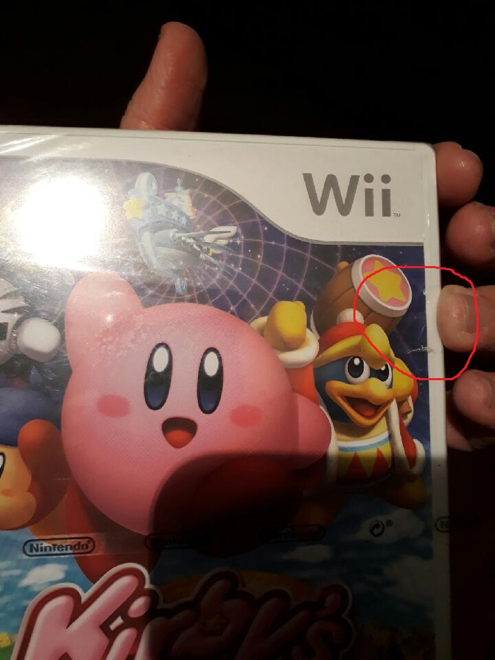 (estimation) aide kirby wii blister 190402062717709635