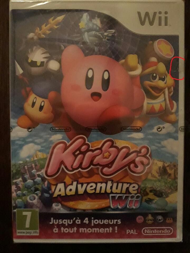 (estimation) aide kirby wii blister 190402062717881581