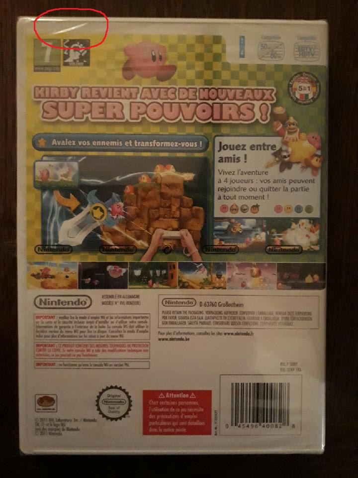 (estimation) aide kirby wii blister 190402062718776961