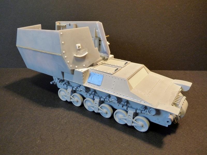 15 cm sFH.13/1 auf Geschutzwagen Lorraine-Schlepper Sd.Kfz. 135/1   RPM 1/35 ème  - Page 2 190403093109785931