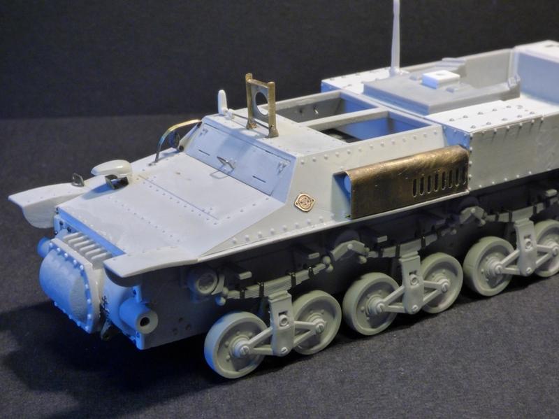 15 cm sFH.13/1 auf Geschutzwagen Lorraine-Schlepper Sd.Kfz. 135/1   RPM 1/35 ème  - Page 2 190403093227994912