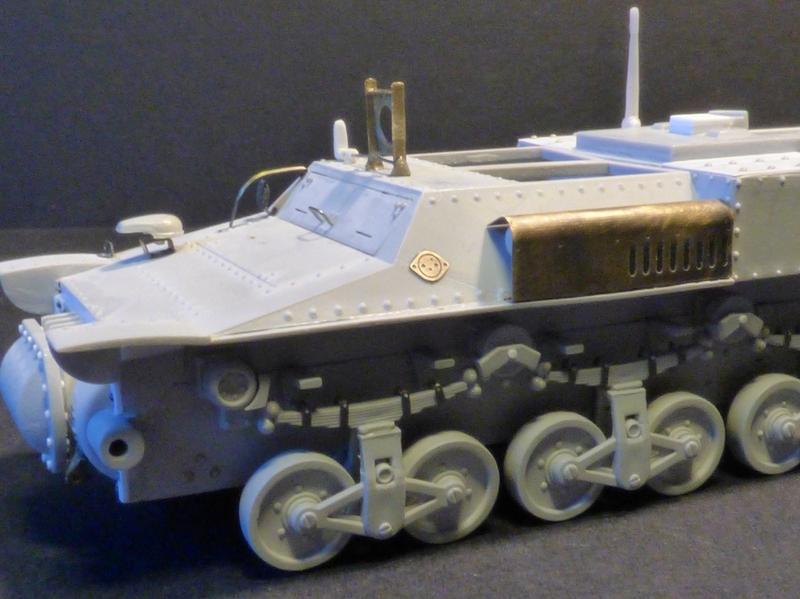 15 cm sFH.13/1 auf Geschutzwagen Lorraine-Schlepper Sd.Kfz. 135/1   RPM 1/35 ème  - Page 2 190403093239797287