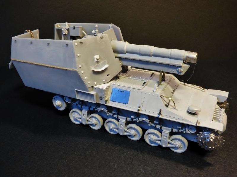 15 cm sFH.13/1 auf Geschutzwagen Lorraine-Schlepper Sd.Kfz. 135/1   RPM 1/35 ème  - Page 3 190405062133451645