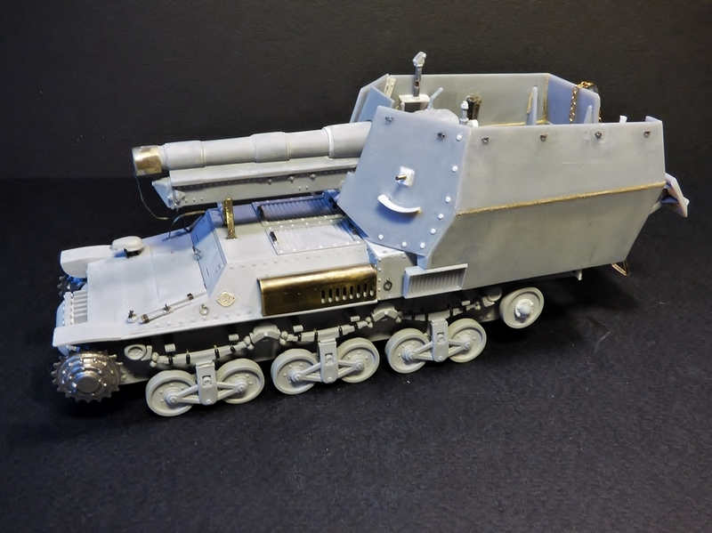15 cm sFH.13/1 auf Geschutzwagen Lorraine-Schlepper Sd.Kfz. 135/1   RPM 1/35 ème  - Page 3 190405062135497160