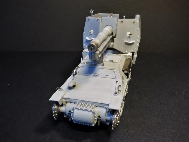 15 cm sFH.13/1 auf Geschutzwagen Lorraine-Schlepper Sd.Kfz. 135/1   RPM 1/35 ème  - Page 3 190405062142702481