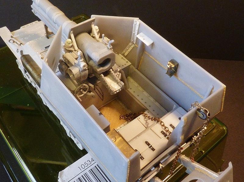 15 cm sFH.13/1 auf Geschutzwagen Lorraine-Schlepper Sd.Kfz. 135/1   RPM 1/35 ème  - Page 3 19040506253091429
