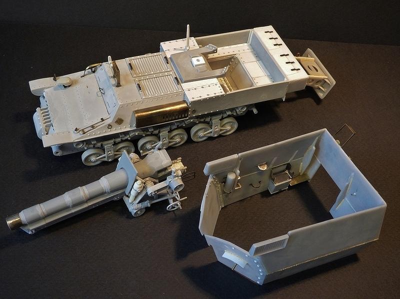 15 cm sFH.13/1 auf Geschutzwagen Lorraine-Schlepper Sd.Kfz. 135/1   RPM 1/35 ème  - Page 3 190405062945864329