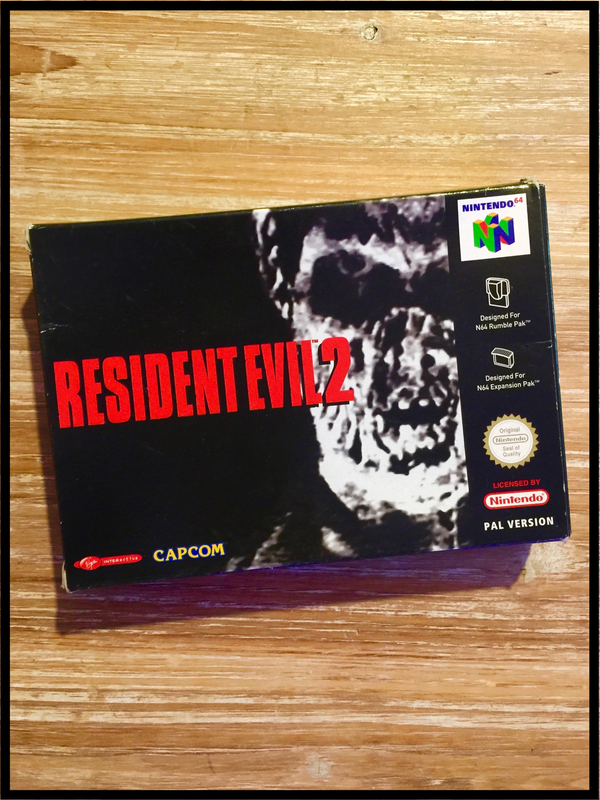 Retroboxing] Resident Evil 2 - Nintendo 64 | Forum SerialDealer