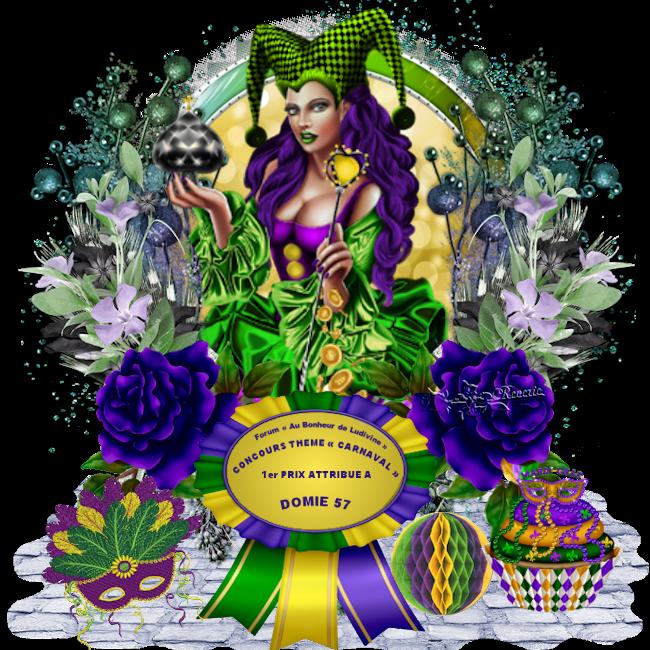 Gagnants et Prix du Concours Thème « Carnaval » 190409071504993633