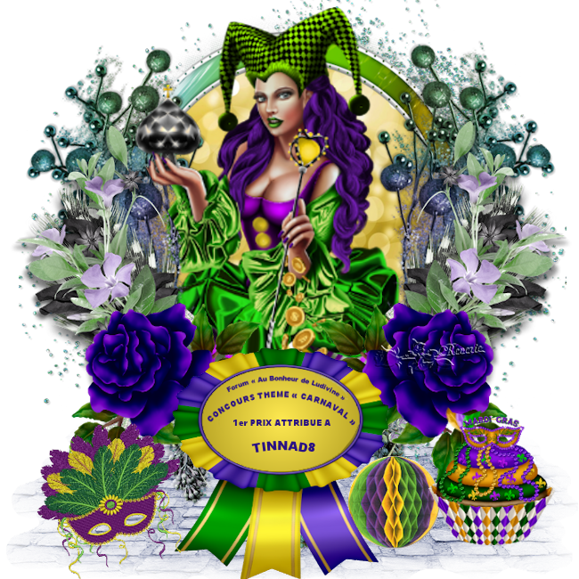Gagnants et Prix du Concours Thème « Carnaval » 190409071531288078