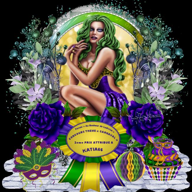 Gagnants et Prix du Concours Thème « Carnaval » 190409071600582619