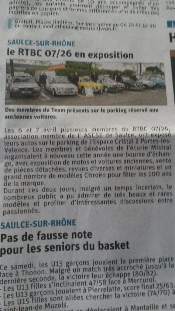 [26] 06 et 07/04/2019 - Expo bourse à Portes les Valence - Page 4 190409084916903626