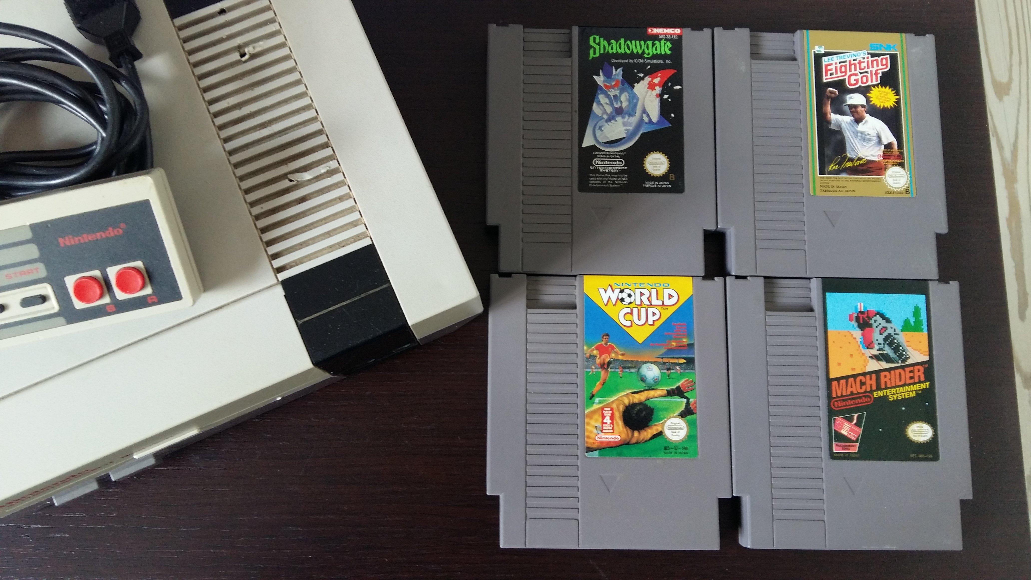 [VDS] NES avec 4 jeux loose 190410085036612626