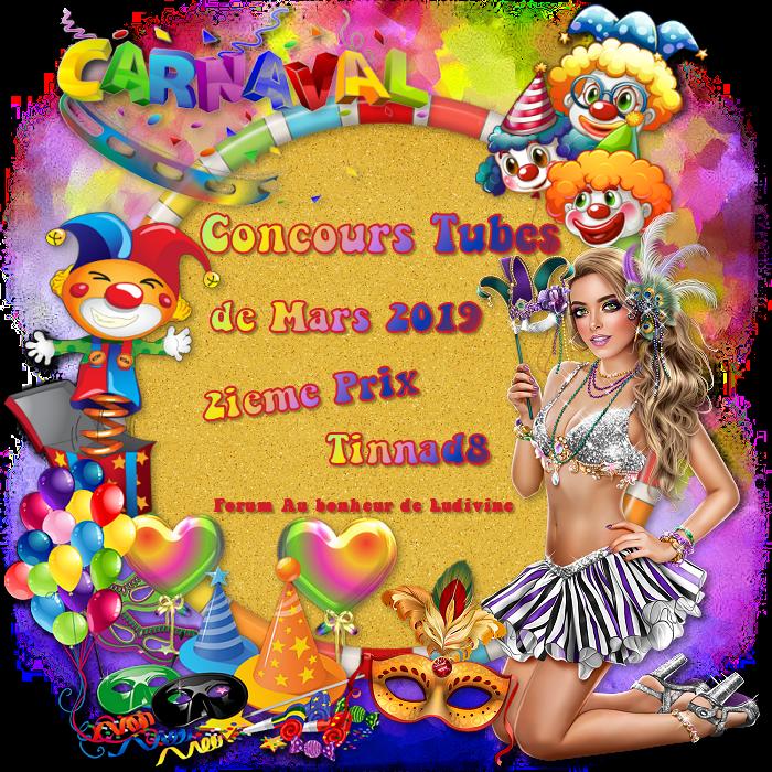"""Gagnants et prix du concours Tubes """"Carnaval"""" 190411040909560615"""