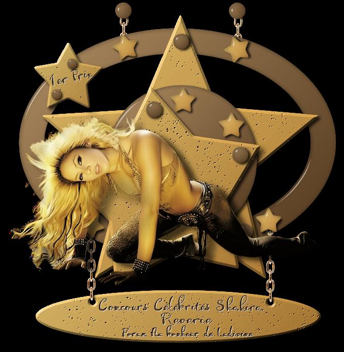 """Gagnants et prix du concours célébrités """"Shakira"""" 190411041138714633"""
