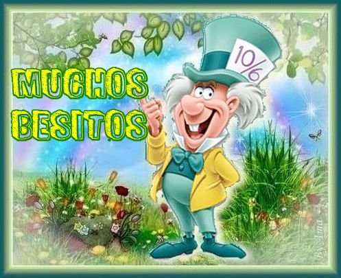 Sombrerero Loco , de Alicia en el Pais de las Maravillas  190411055959913577