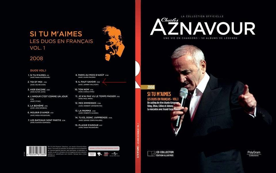 livres  cd collection oficiel charles aznavour 190411071632599197