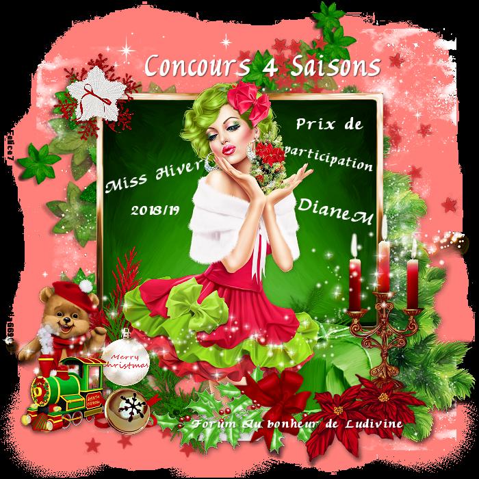 """Gagnants et prix du concours 4 Saisons """"Miss Hiver 2018/19"""" 190412072447676640"""