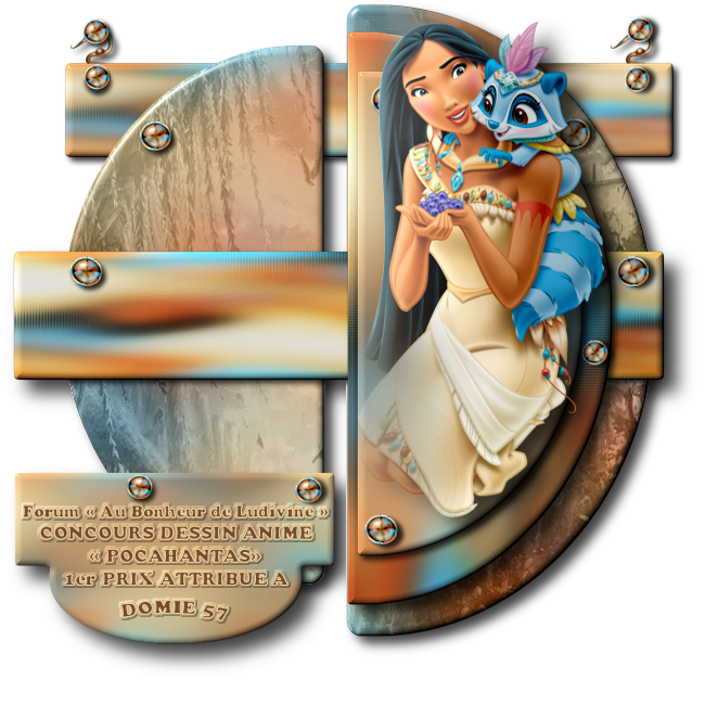Gagnants et Prix du Concours Dessin Animé « Pocahontas » 190413031941538657