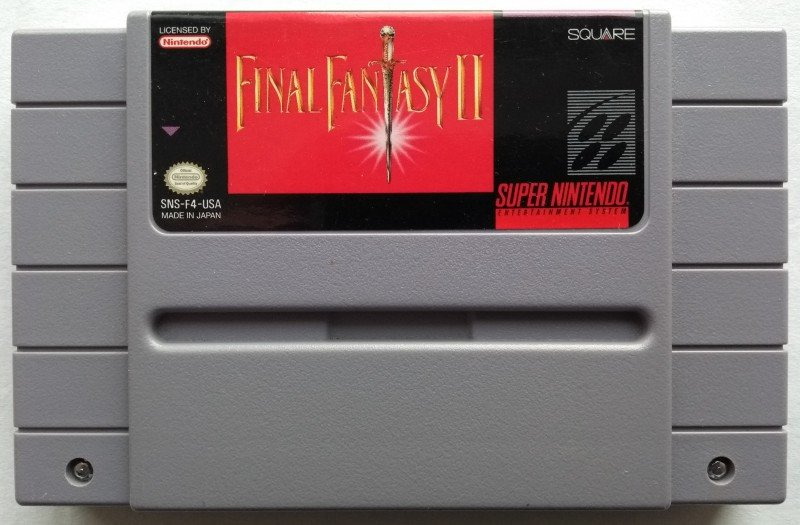 [ACH] Cartouche Final Fantasy II SNES US loose 190413032950867957