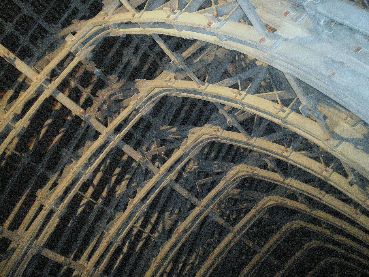 Charpente de la cathédrale de Reims