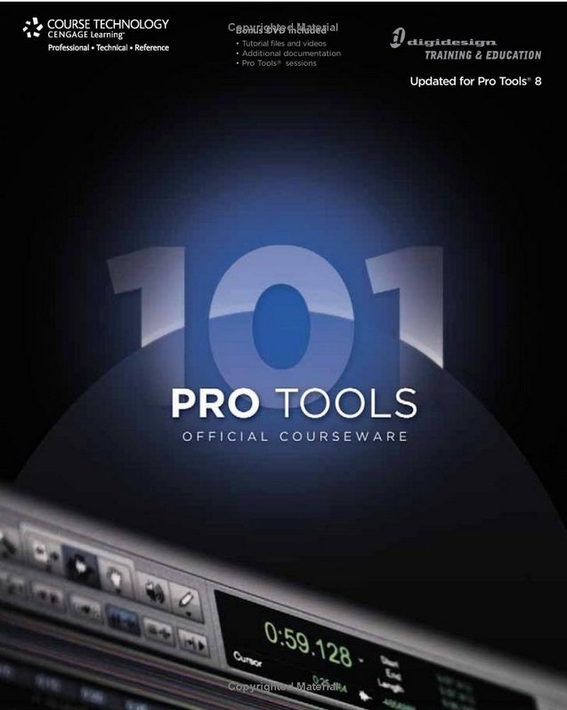 Pro Tools 101 Official Courseware, Version 8-P2P