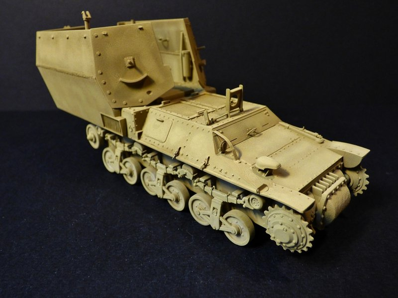 15 cm sFH.13/1 auf Geschutzwagen Lorraine-Schlepper Sd.Kfz. 135/1   RPM 1/35 ème  - Page 3 190418044904796109