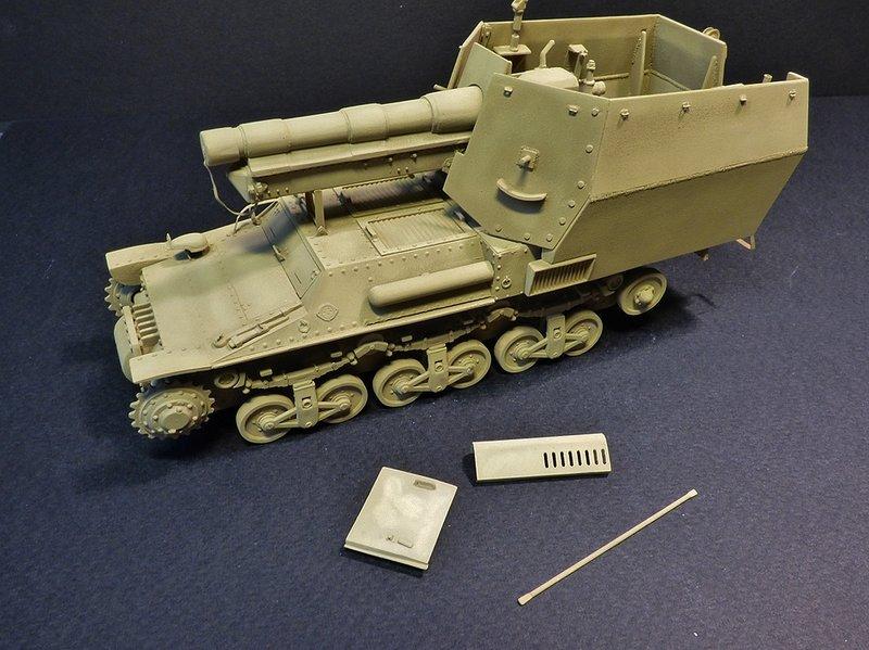15 cm sFH.13/1 auf Geschutzwagen Lorraine-Schlepper Sd.Kfz. 135/1   RPM 1/35 ème  - Page 3 190418044922940466