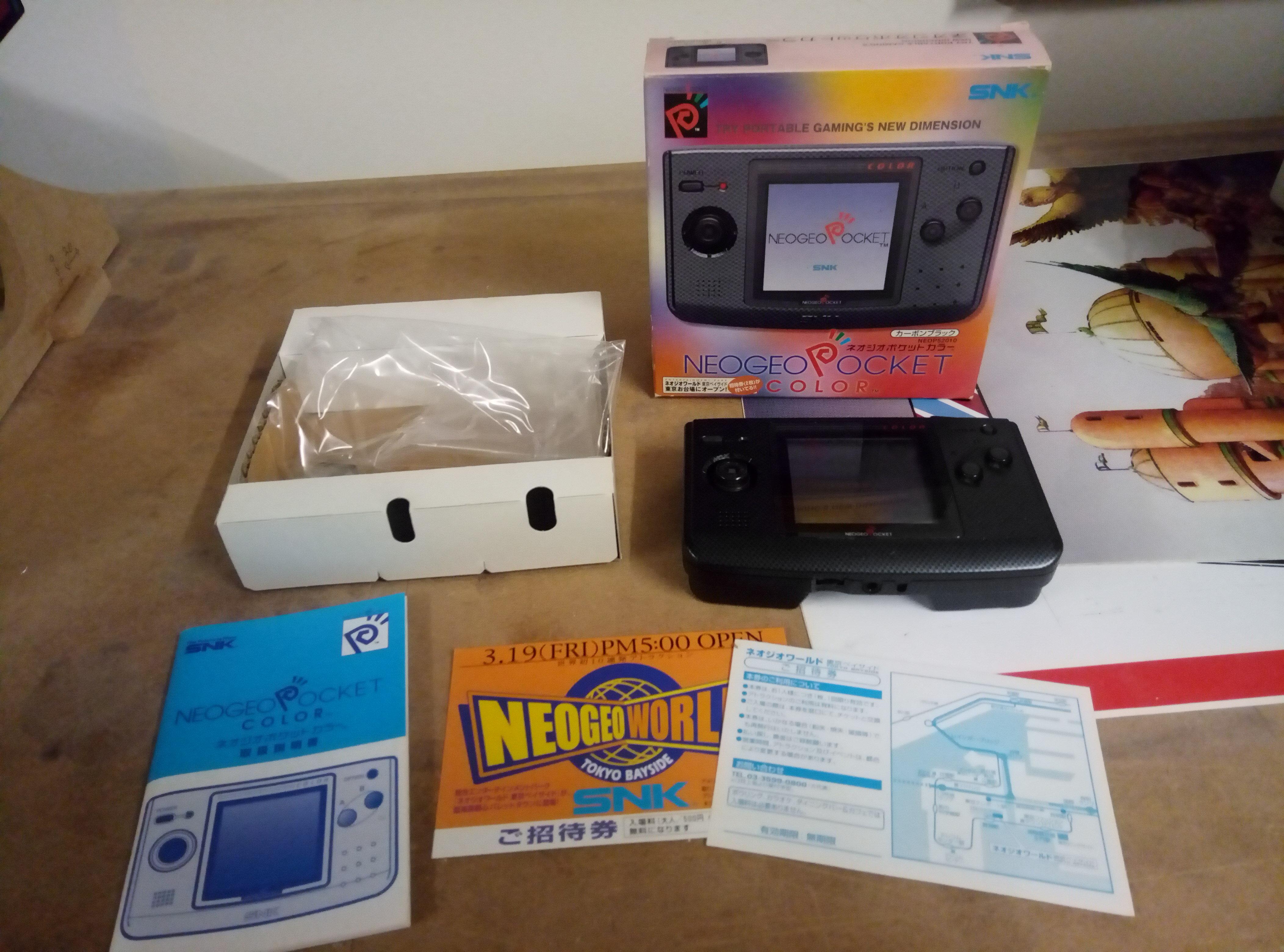 [VENDU] NeoGeo Pocket + NeoGeo X + Flashmasta le tout en box + GameCube 190418060339994066