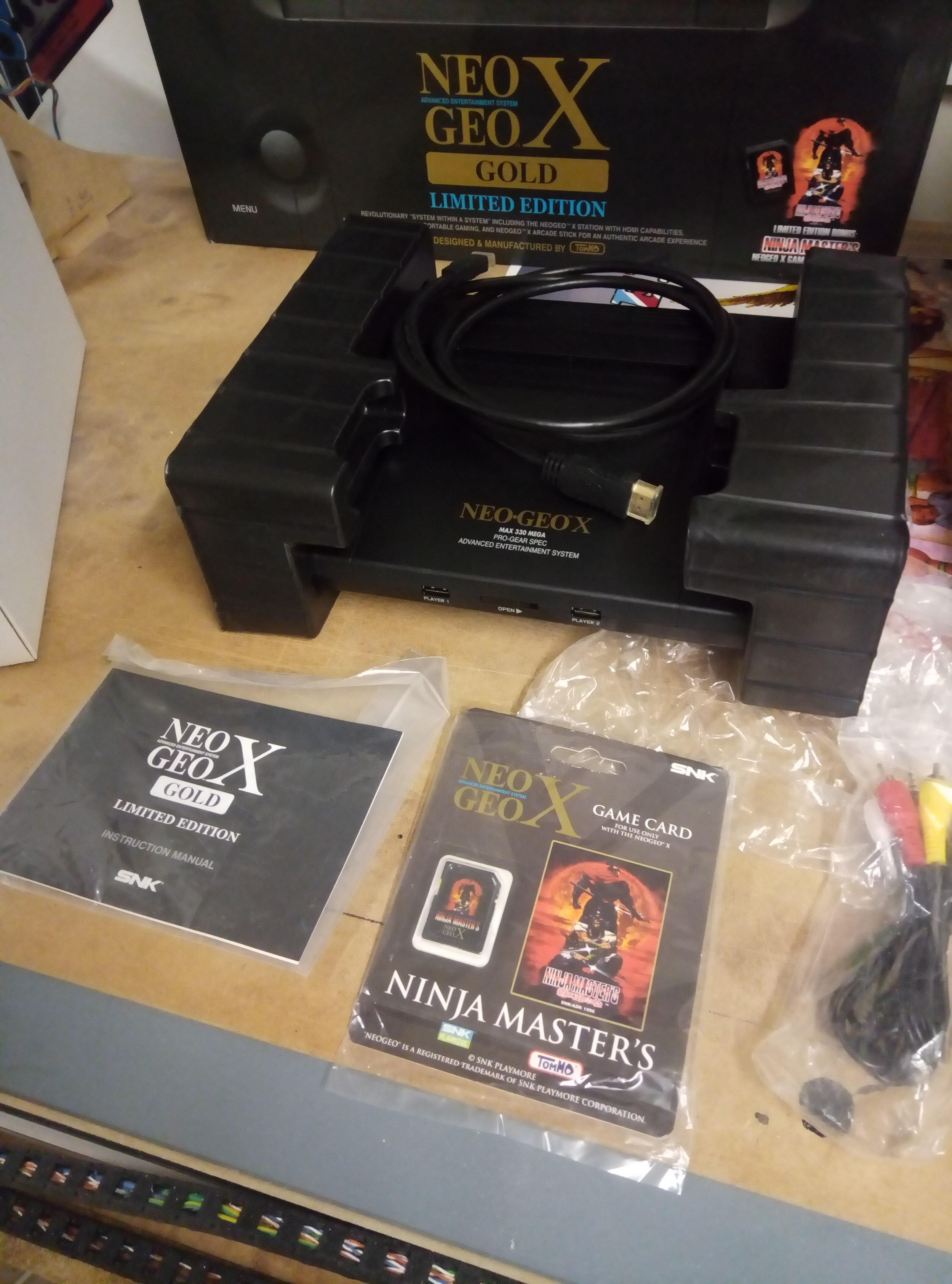 [VENDU] NeoGeo Pocket + NeoGeo X + Flashmasta le tout en box + GameCube 190418060346224232