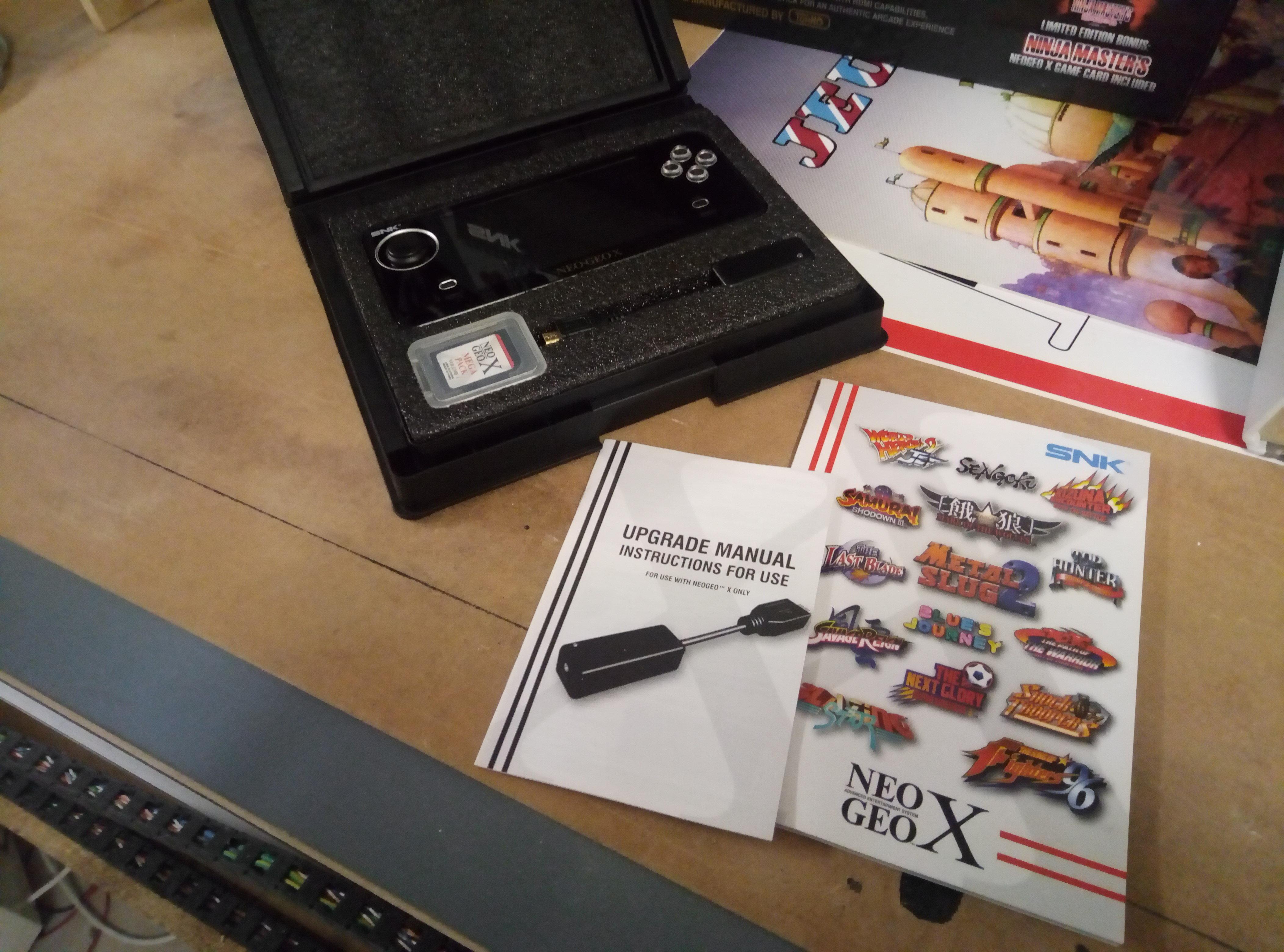 [VENDU] NeoGeo Pocket + NeoGeo X + Flashmasta le tout en box + GameCube 190418060348794507