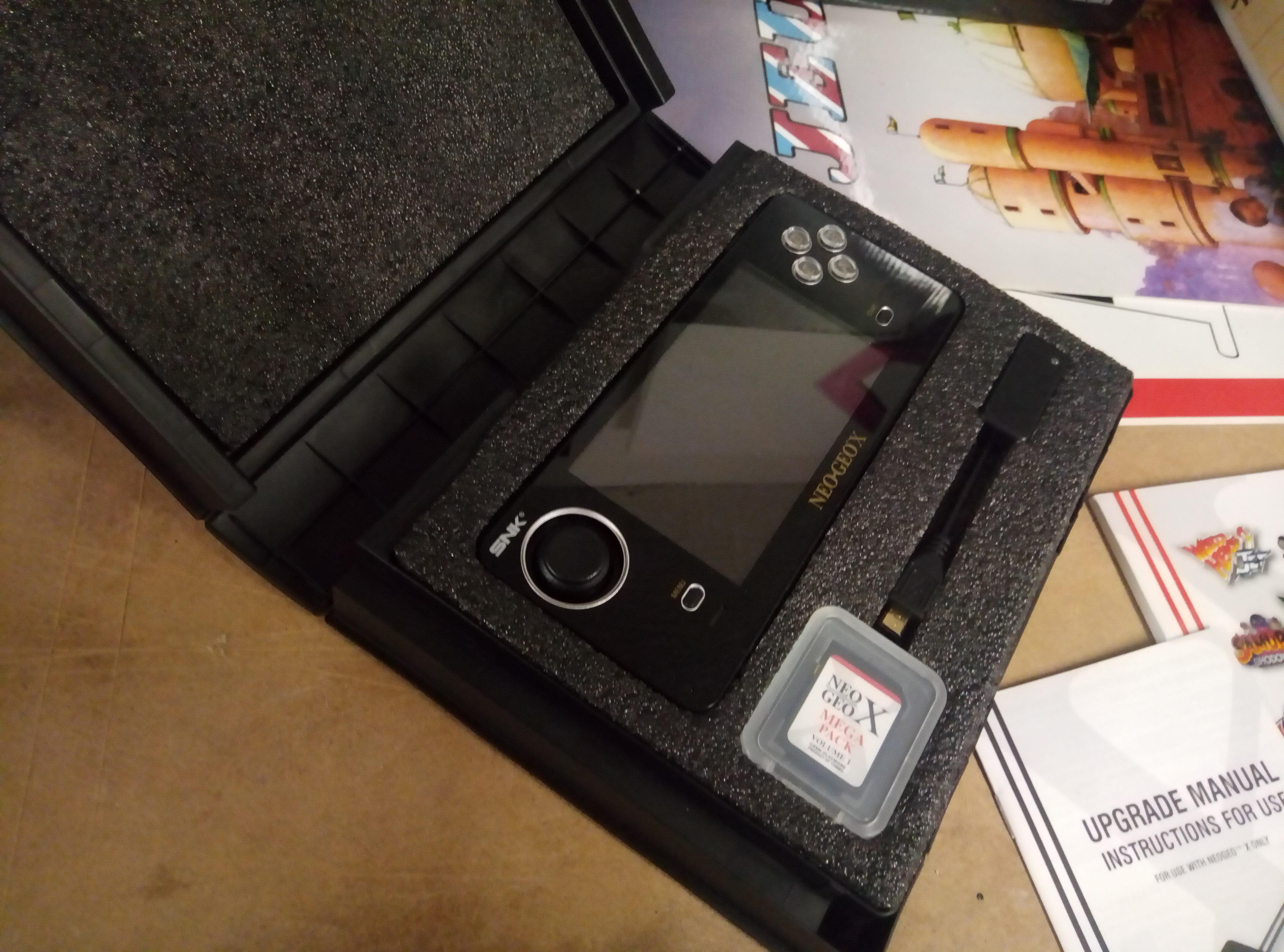 [VENDU] NeoGeo Pocket + NeoGeo X + Flashmasta le tout en box + GameCube 190418060351187058