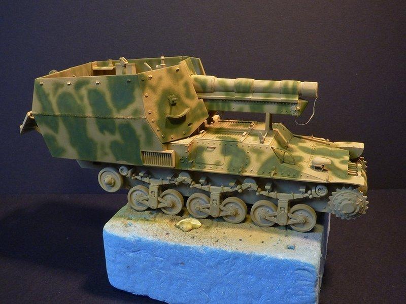 15 cm sFH.13/1 auf Geschutzwagen Lorraine-Schlepper Sd.Kfz. 135/1   RPM 1/35 ème  - Page 3 190419052655772608