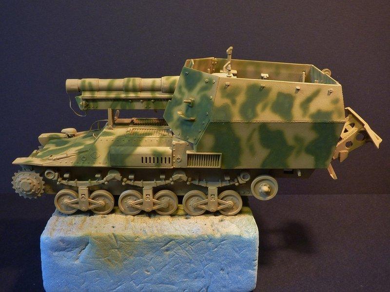15 cm sFH.13/1 auf Geschutzwagen Lorraine-Schlepper Sd.Kfz. 135/1   RPM 1/35 ème  - Page 3 190419052658341495