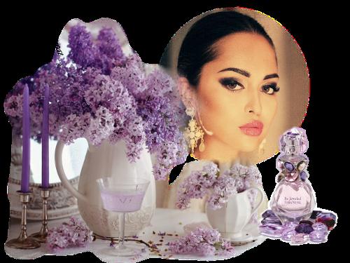 visage lilas parfum mauve