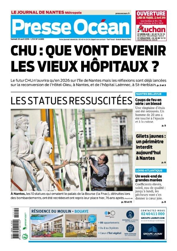 Presse Océan Nantes du samedi 20 avril 2019