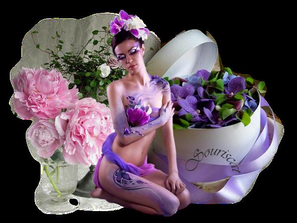 la boite de violettes