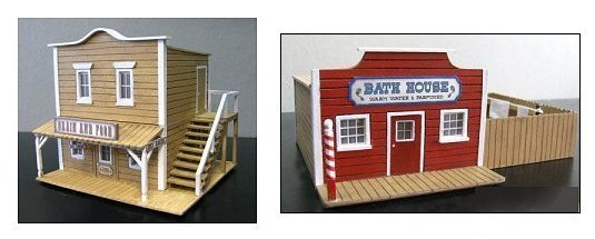 Vente - figurines FROSTGRAVE et bâtiments WESTERN 190424074851993557
