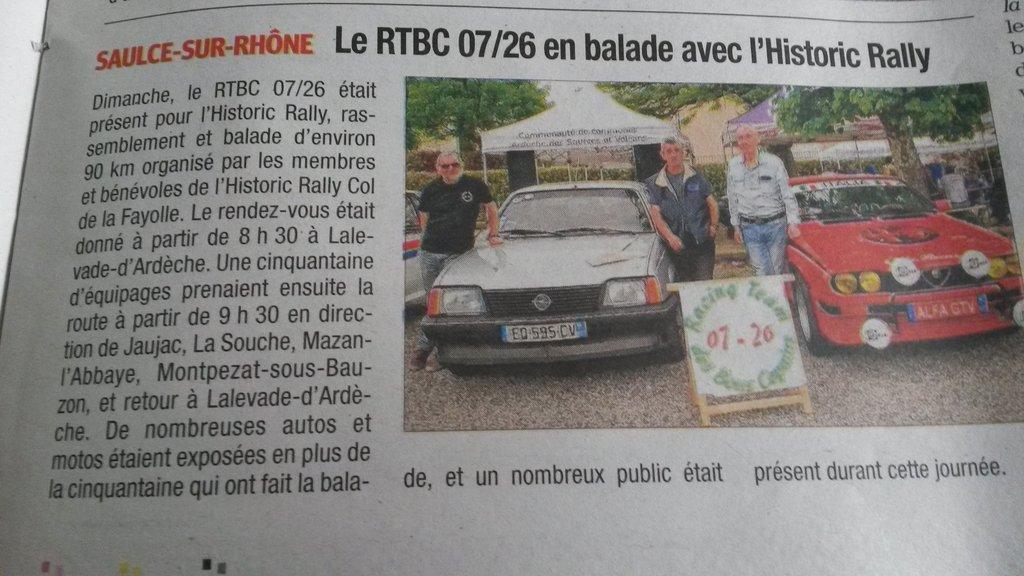 2 - Balade La Fayolle 25 04 2019