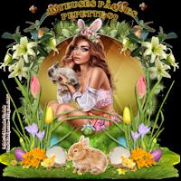 """On vote Concours 4 Saisons """"Miss Printemps  2019"""" 5ième création (lila) 190425064425975084"""