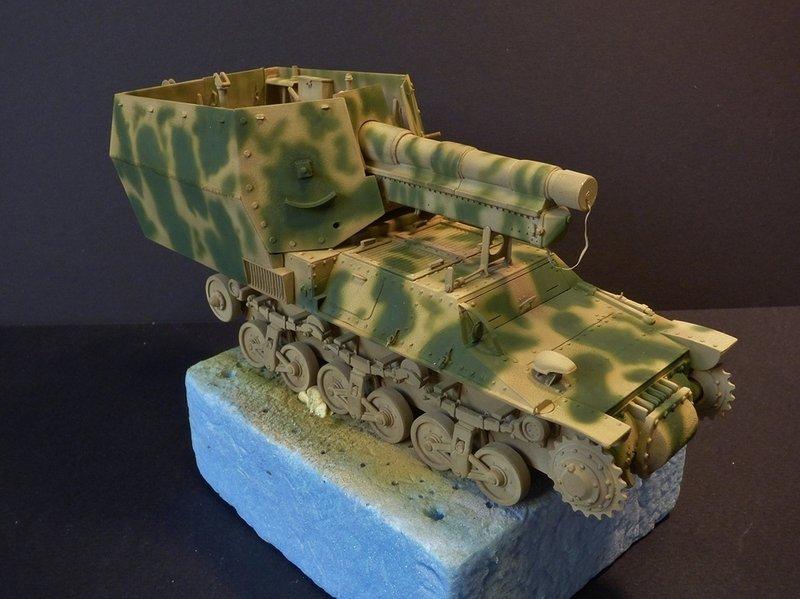 15 cm sFH.13/1 auf Geschutzwagen Lorraine-Schlepper Sd.Kfz. 135/1   RPM 1/35 ème  - Page 3 190425074103710242