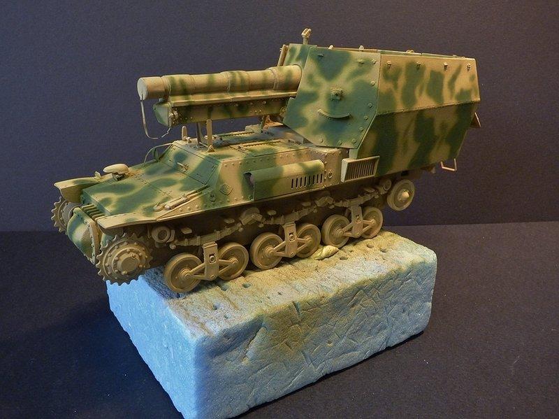 15 cm sFH.13/1 auf Geschutzwagen Lorraine-Schlepper Sd.Kfz. 135/1   RPM 1/35 ème  - Page 3 190425074107411791