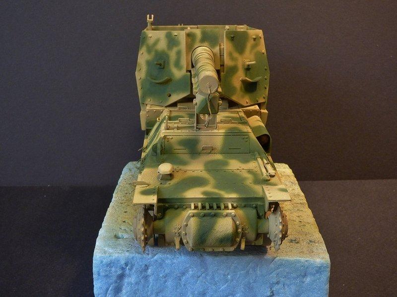 15 cm sFH.13/1 auf Geschutzwagen Lorraine-Schlepper Sd.Kfz. 135/1   RPM 1/35 ème  - Page 3 190425074115265749